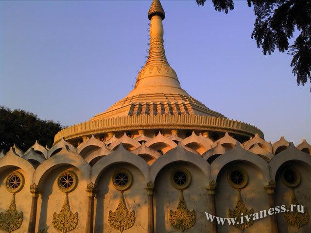 Пагода. Випассана в Индии